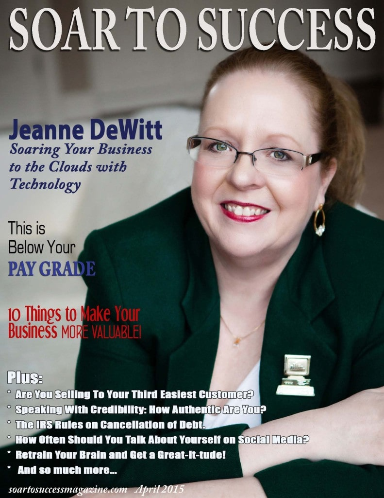 Soar To Success Magazine, Toledo Head Shot Photographer cover
