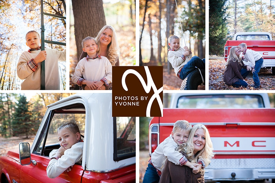 mom & son fall session