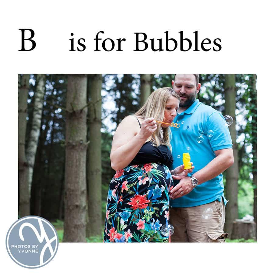 Baby Bump ABC book B