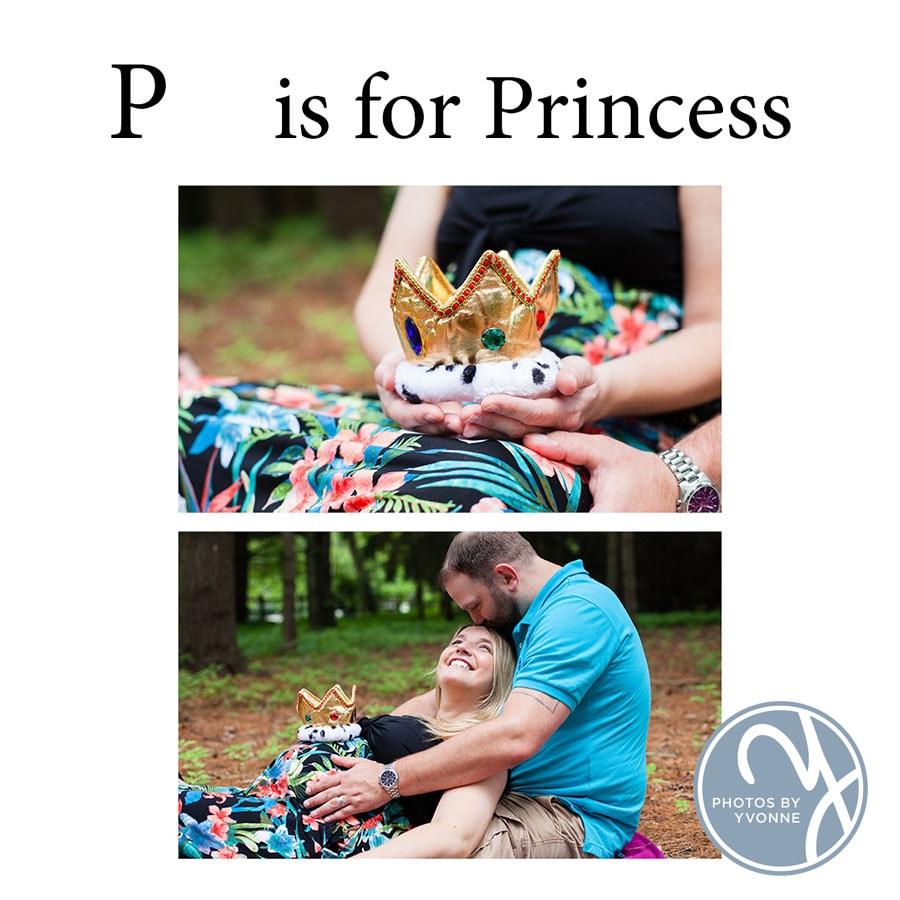 Baby Bump ABC book P