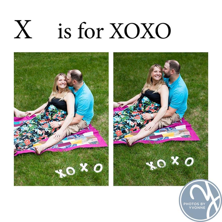 Baby Bump ABC book X