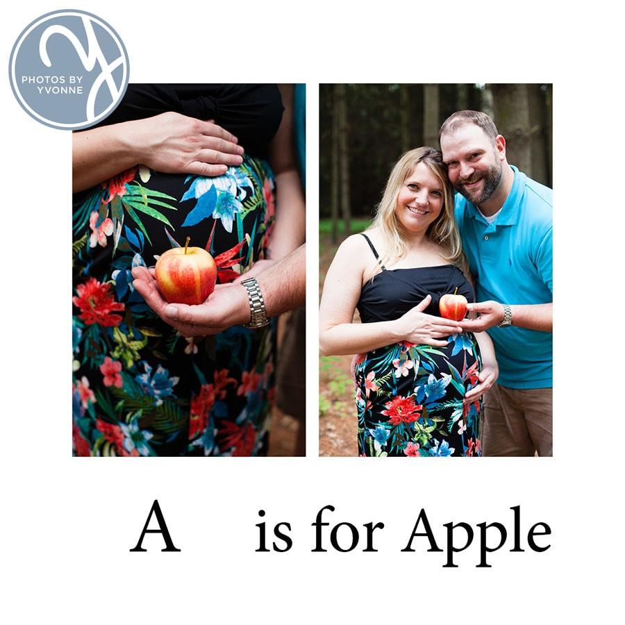 Baby Bump ABC book A