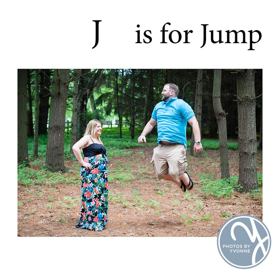 Baby Bump ABC book J