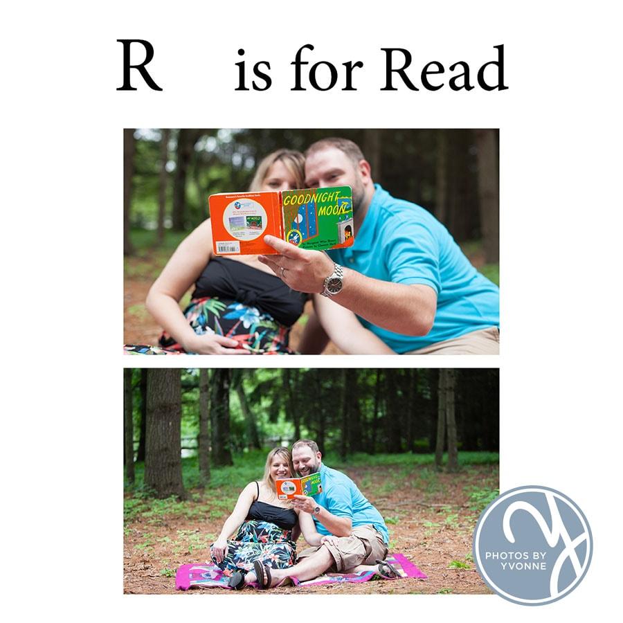 Baby Bump ABC book R