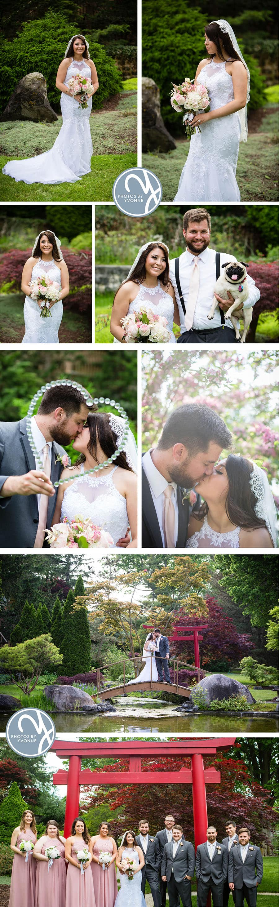 Jacon & Christine's May wedding was breathtaking