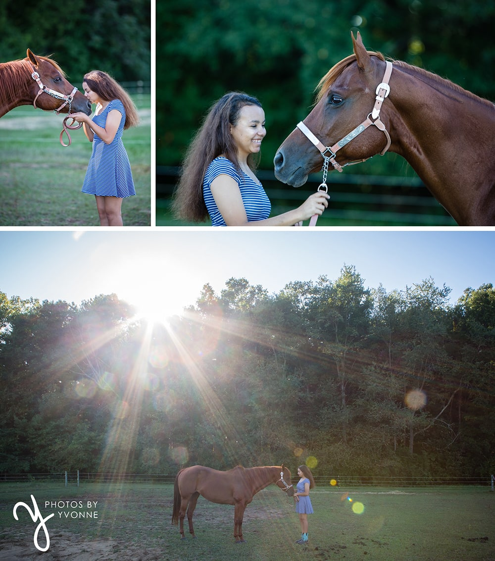 Senior Pictures with horse