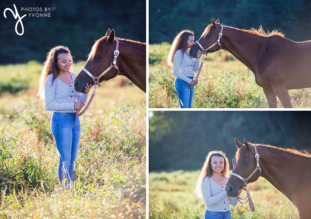 Summer Photos with horse