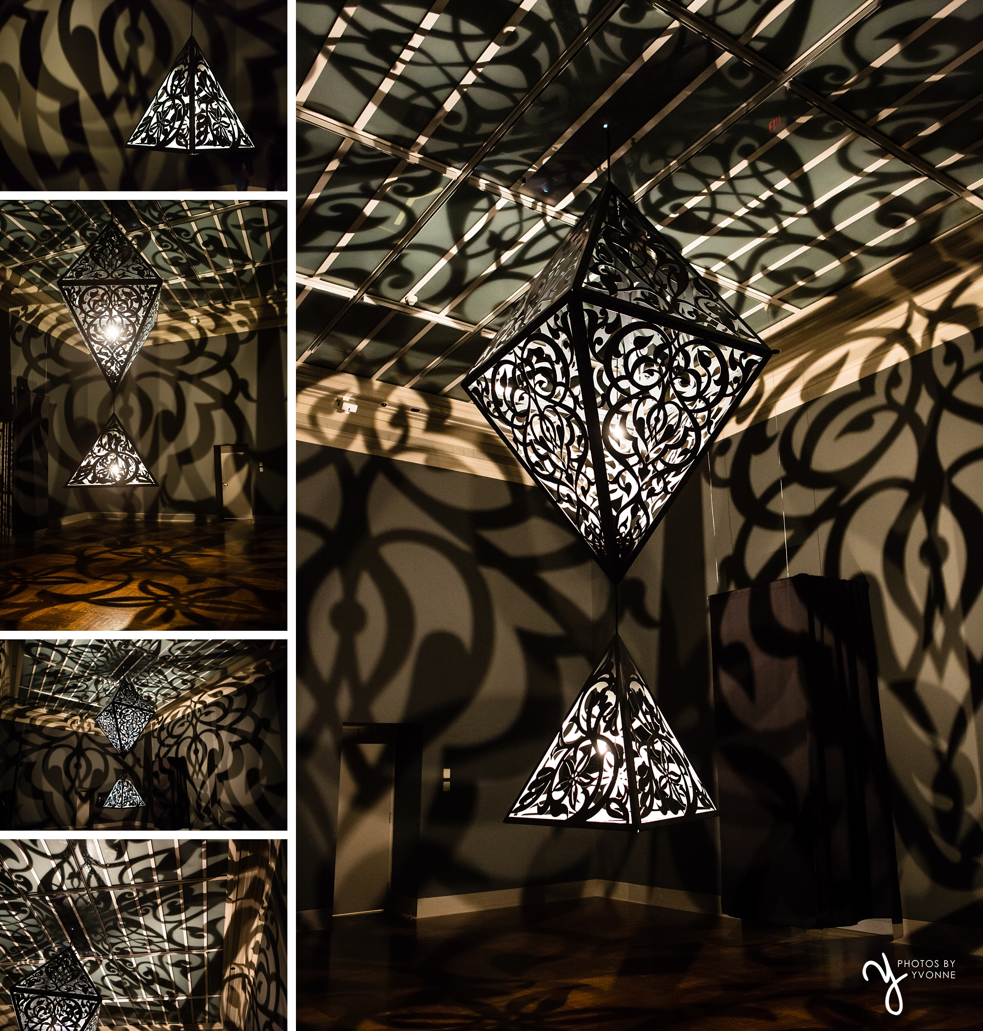 Anila Quayyam Agha: Between Light & Shadow exhibit