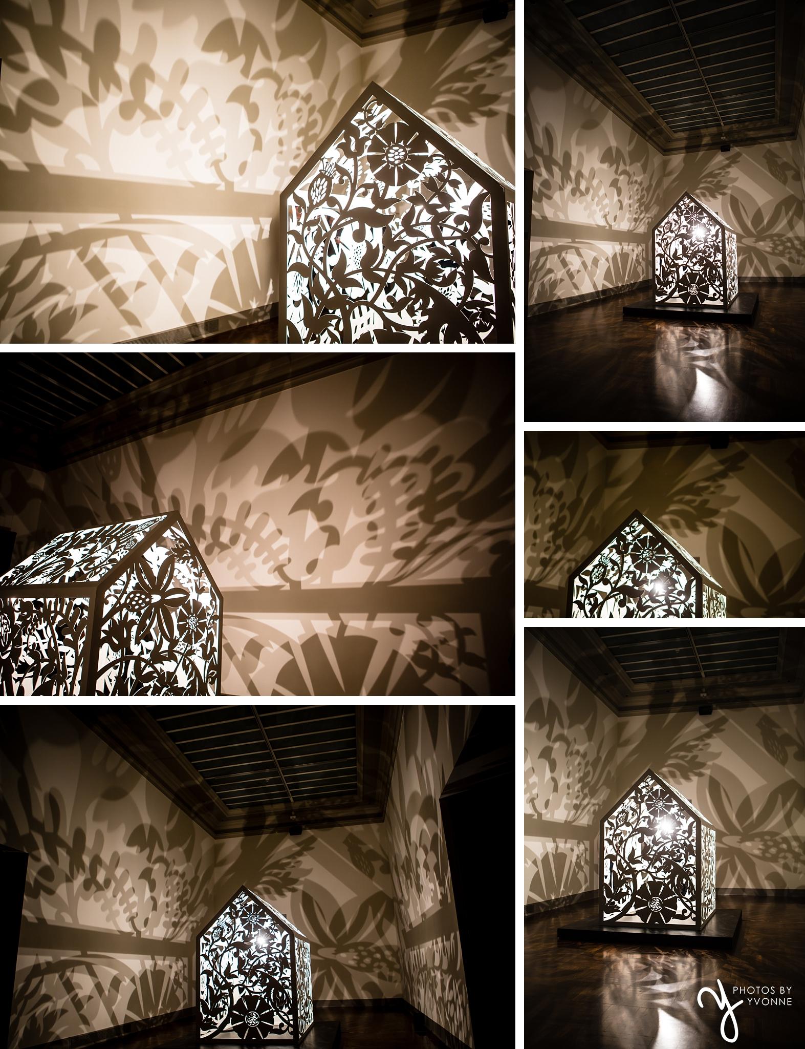 Anila Quayyam Agha: Between Light & Shadow exhibit at The Toledo Museaum of Art