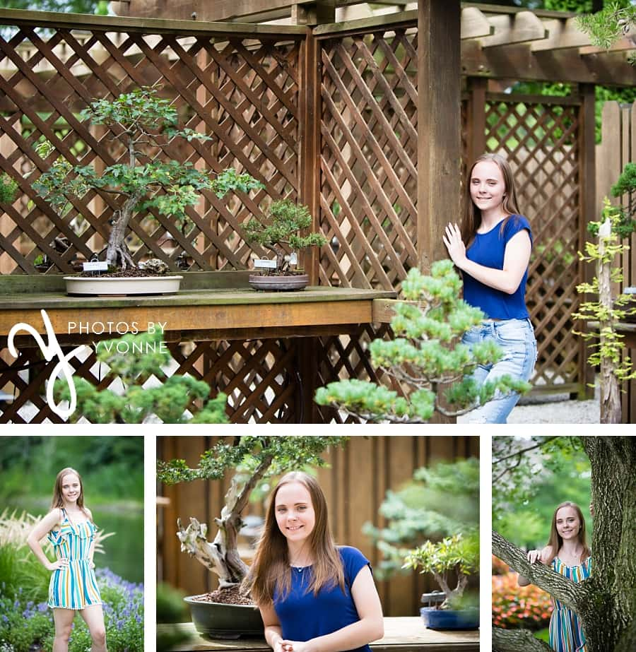 Senior Pictures at Schedel Gardens