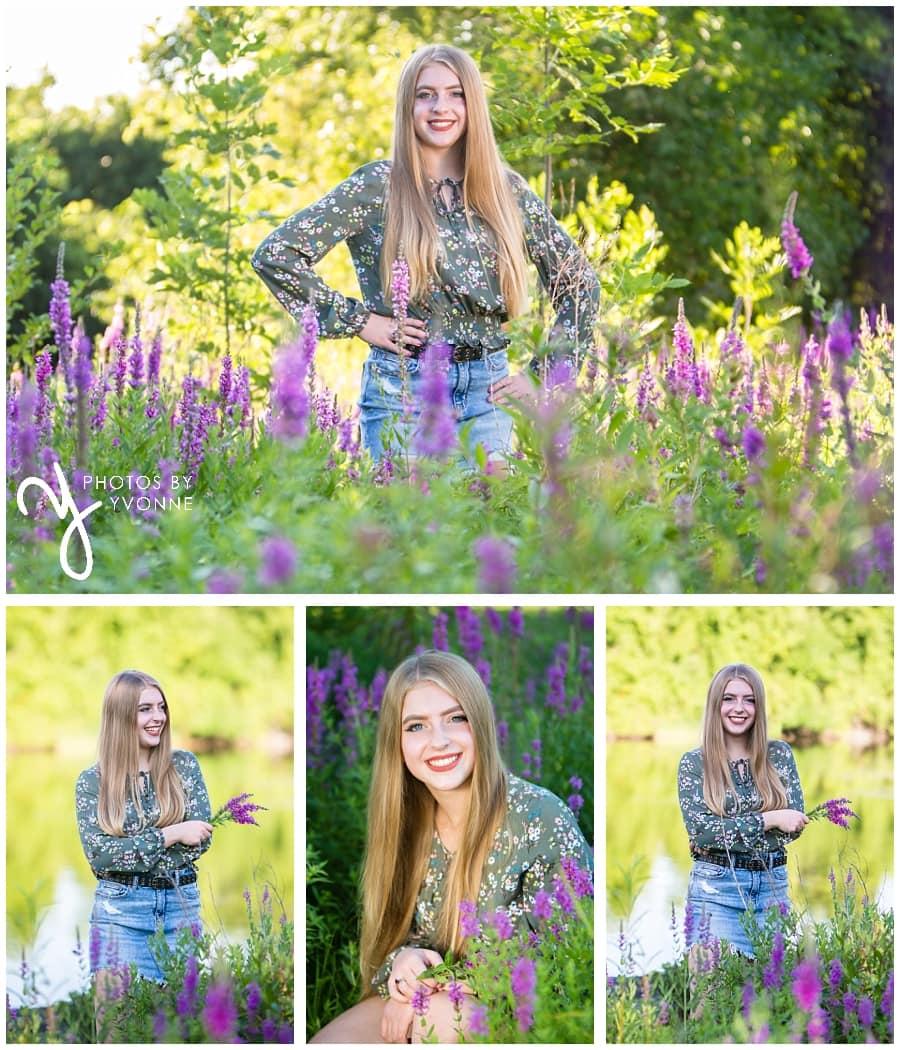 senior pictures in Ann Arbor
