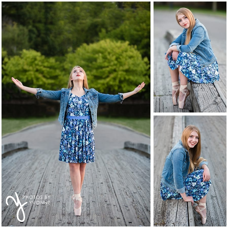 pointe shoes senior pictures