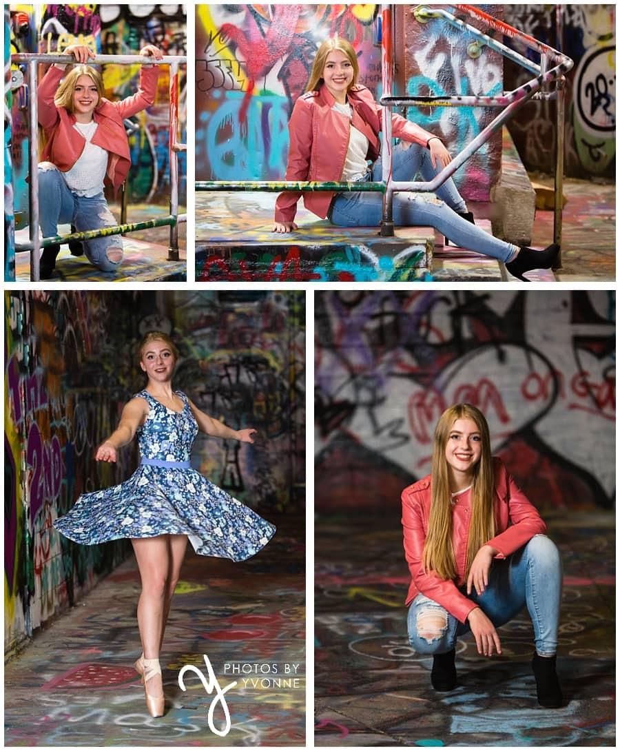 graffiti alley senior pictures
