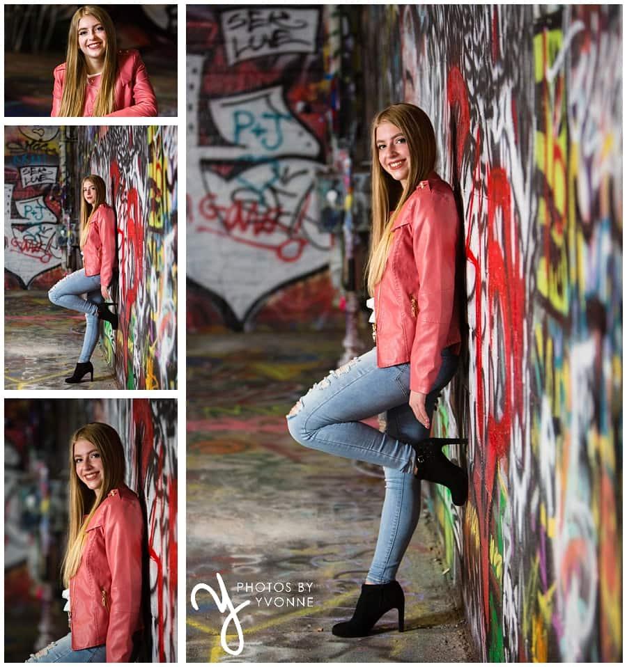 Corri's graffiti alley senior pictures