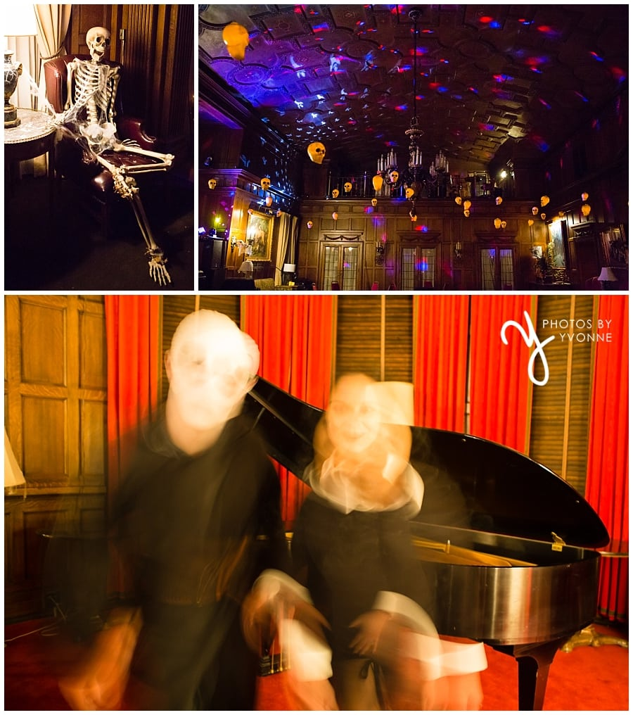Toledo Club ghost images at Halloween