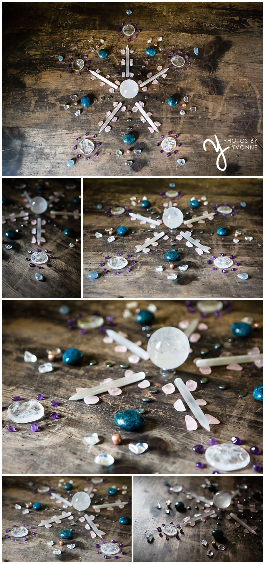 Crystal Grids at Asherah's Garden